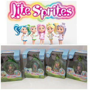 NIB WowWee Lite Sprite Bundle with Pods and Dolls